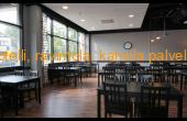 Ravintola Buffet asiakaspaikkoja