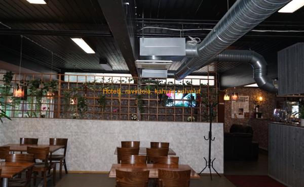 Keskitila, tilat kokonaisuudessaan remontoitu asiakaspalvelun parantamiseksi, tervetuloa!